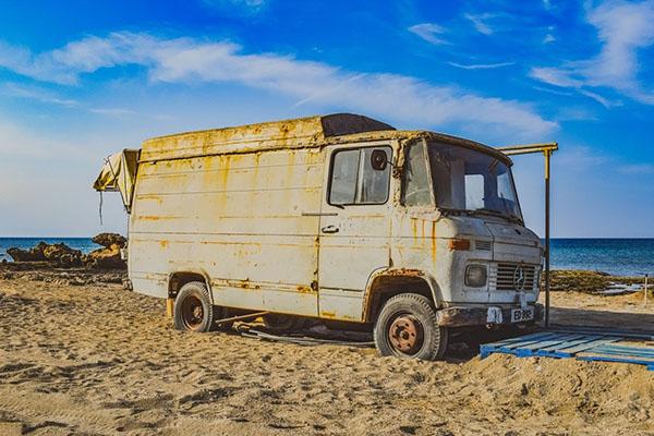 epaviste camion
