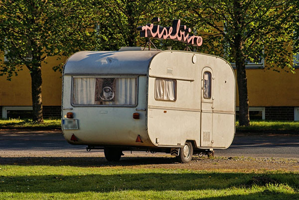 épaviste caravane